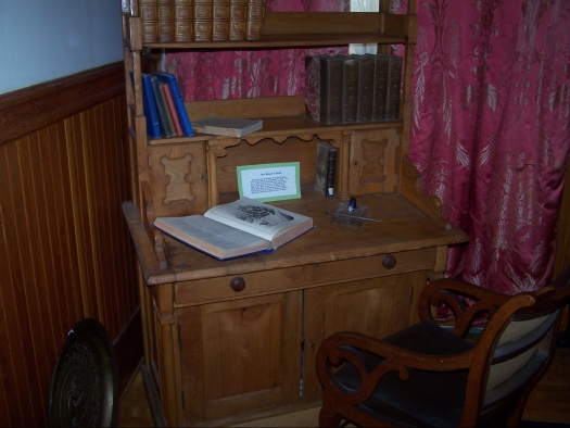 Mayor John W. King's desk