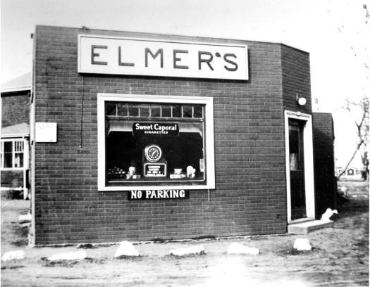 Elmer's Store in 1942