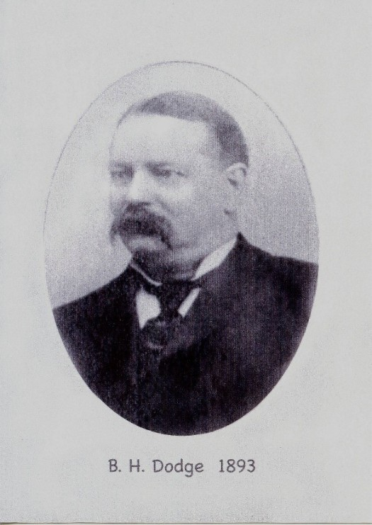 Brenton H. Dodge as he appeared when he was Kentville's mayor in 1893