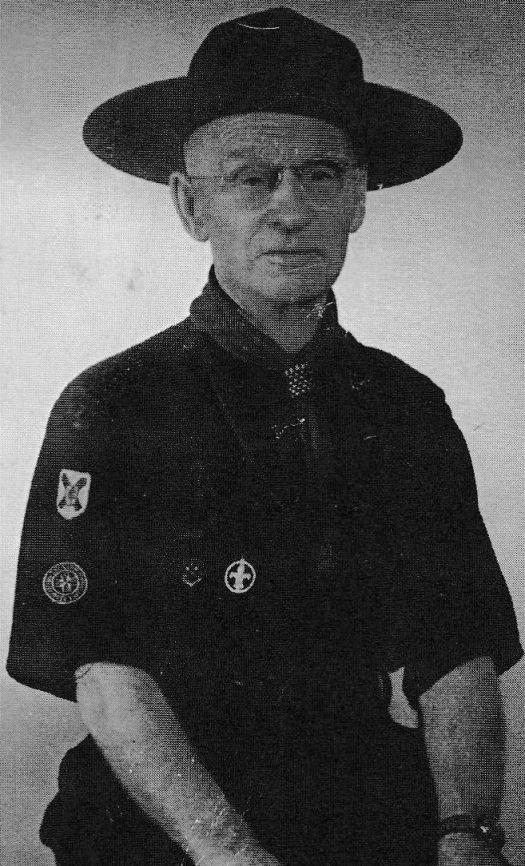 Walter Wood has been hailed as the oldest Scout in the Commonwealth of Nations. (Contributed).