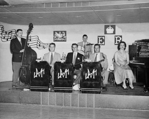 Larry Machum Swing Band circa 1950